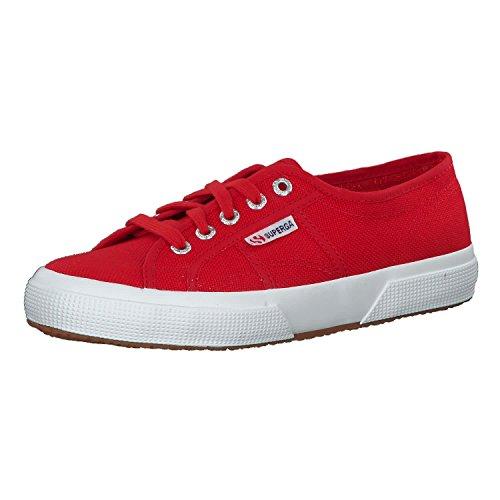 Superga 2750 COTU Classic, Zapatillas Unisex Adulto, Multicolor Rojo Blanco, 46 EU