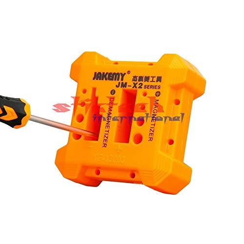 Screwdriver by dhl 100pcs X2 Magnetizer Demagnetizer Tool Magnetic Degaussing Orange Screwdriver Magnetic Pick Up Tool Screwdriver
