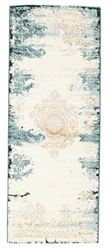 FeelGoodRugs RugVista Teppich Alaska, Kurzflor, 80 x 200 cm, Läufer, Modern, Öko-Tex Standard 100, Polypropylen, Schlafzimmer, Wohnzimmer, Mehrfarbig