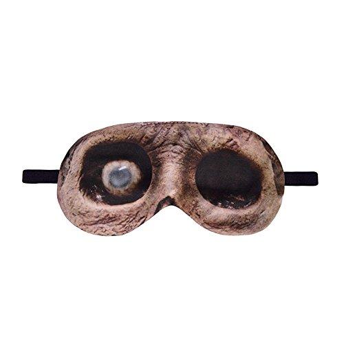 Missliht - Antifaz para dormir, diseño de ojos de animales en 3D, relajante, para viajes, dormir, lindo, ayuda para dormir para niños y adultos