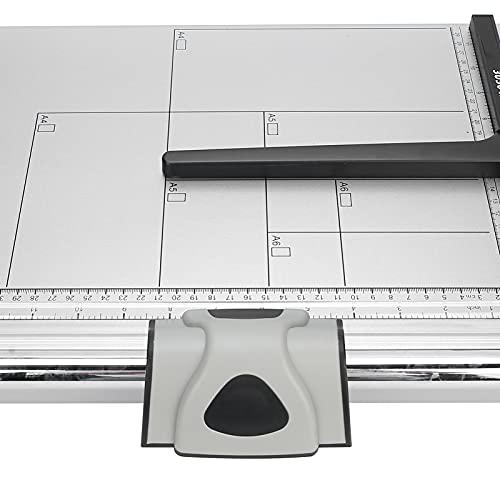 Cortadora de papel, cortadora de papel A4 con capacidad para 15 hojas, cortadora de papel para la escuela y la oficina