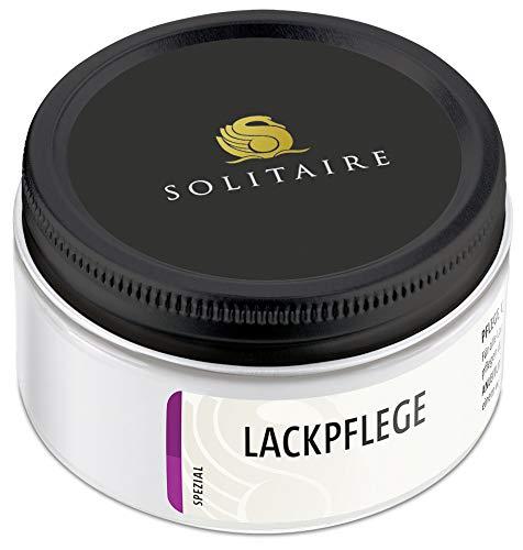 Solitaire Lackpflege - Pflege und Glanz mit speziellen Weichmachern (50 ml, Schwarz)