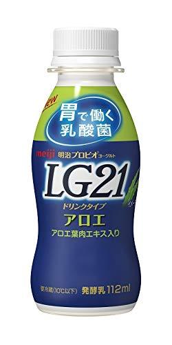 (クール便)明治 プロビオ ヨーグルト LG21 ドリンク タイプ アロエ 112ml×36本