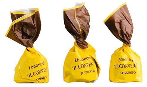 Praline Fondente alla Crema di Limoncello - 1000 g lose - Zartbitterpralinen, mit Limoncello-Creme gefüllt