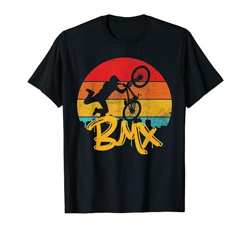 BMX Vintage Freestyle Bicicletta Bici Maglietta