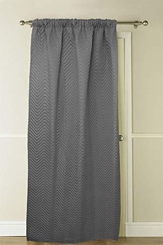 Country Club - Cortina térmica para puerta (51 x 84 cm, con forro térmico)