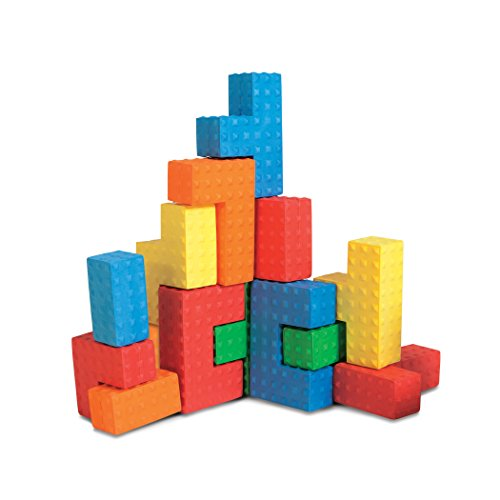 Edushape Easy Grip Soft Foam Sensory Puzzle Blocks