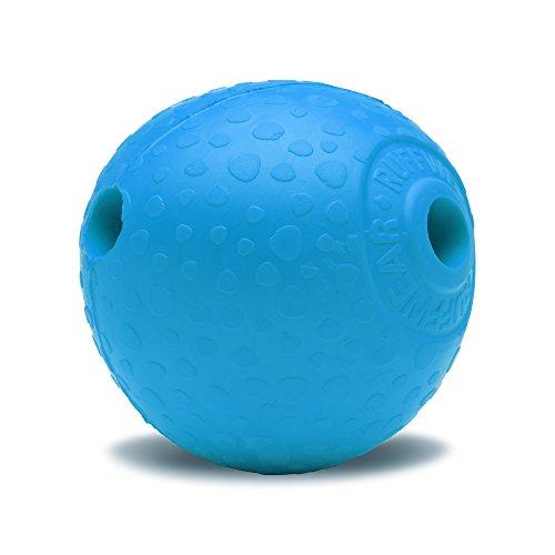 Ruffwear Kaufestes Hundespielzeug aus Gummi, Futter und Leckerli Aufbewahrung, One Size, Blau (Metolius Blue), Huckama, 60701-425