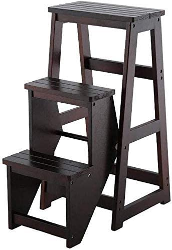 HLL Step Stools Stepladders Solid with Reservation Stool Ladder Wood Multif Max 48% OFF