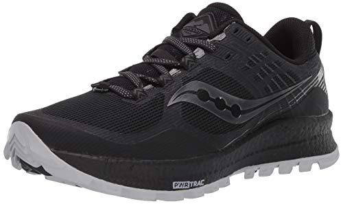 Saucony Xodus 10, Zapatillas de Atletismo para Mujer, Plum/Black