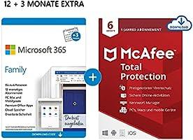 Microsoft 365 Family (+Norton/McAfee)