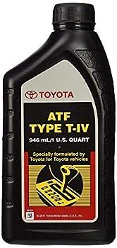 TOYOTA Genuine Lexus ATF Type T-IV Automatic Transmission Fluid OEM 6 Quart Type-4 ATF  6