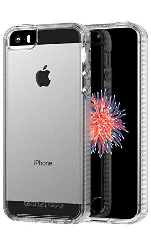 Tech21 Pure Clear Custodia Protettiva per Apple iPhone 5/5s/SE 2018 Refresh - Trasparente