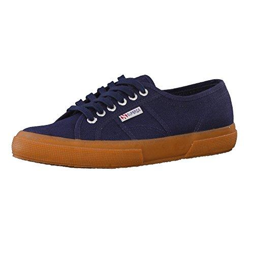 Superga Superga Cotu Classic, Unisex-Erwachsene Sneaker, Blu (Navy/White/Gum G01), 36 EU