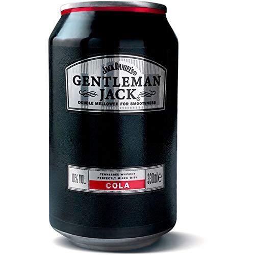 12 Dosen a 0,33l Gentleman Jack jack Daniel´s + Cola a 0,33l ic. EINWEG Pfand