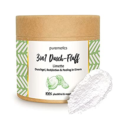 puremetics 3in1 Dusch-Fluff Limette
