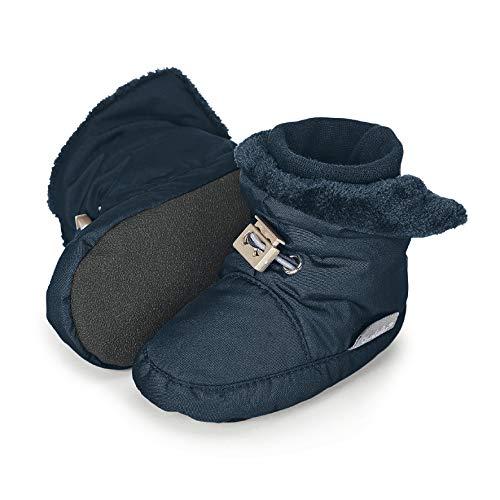 Sterntaler Jungen Baby Stiefel mit Klettverschluss, Farbe: Marine, Größe: 15/16, Alter: 4-6 Monate, Artikel-Nr.: 5101521