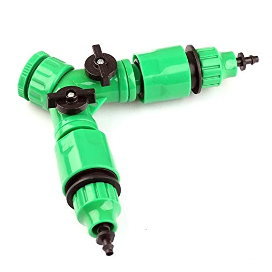 G 1/2'' Or 3/4'' Faucet Joint Two Ways Ball Valve+2Pcs 8/11 Or 4/7Mm Hose Quick Connectors Garden Irrigation Fast Hose Connector