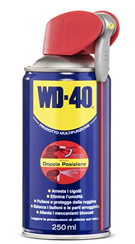 WD-40, multifunctioneel smeermiddel, 250 ML/doppia posizione, lichtbruin