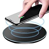 UCABLE Universal Ultra-Slim Wireless Charger, 10W Qi-Certified Fast Charge for All Qi-Enabled Phones