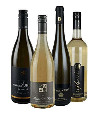 RHEIN AHR WEIN Weinpaket BLANC DE NOIR (4x 0,75l) Fruchtig-frische Blanc de Noir aus der Rhein-Ahr-Region, trocken …