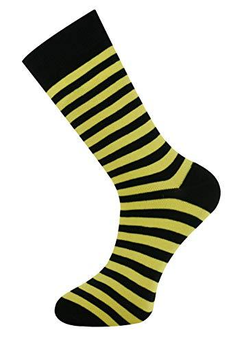 Mysocks Streifen Gelb schwarz