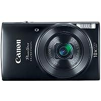 Manufacturer Refurbished Canon PowerShot ELPH 190 20MP 720p Wi-Fi Digital Camera (various colors)
