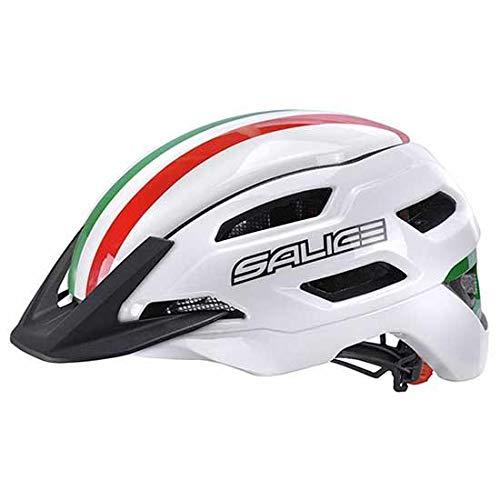 SALICE Stelvio ITA Fahrradhelm, Unisex, Erwachsene, Weiß Italien