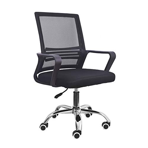 Cadeira Escritório Home Office Giratória Trevalla TL-CDE-39-1 Preta
