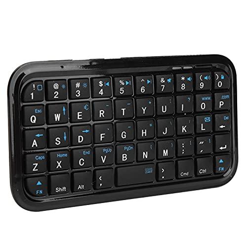 Teclado Bluetooth, Teclado Inalámbrico de Batería de Litio Recargable para Teléfonos Inteligentes/Tableta OS 1/2 / Air/Android