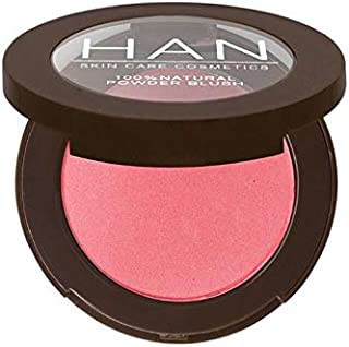 HAN Skincare Cosmetics All Natural Pressed Blush, Carousel
