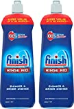 Finish Rinse Aid for Shinier and Drier Dishes ORIGINAL, Pack of 2