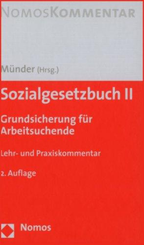 Sozialgesetzbuch II: Grundsicherung für Arbeitsuchende