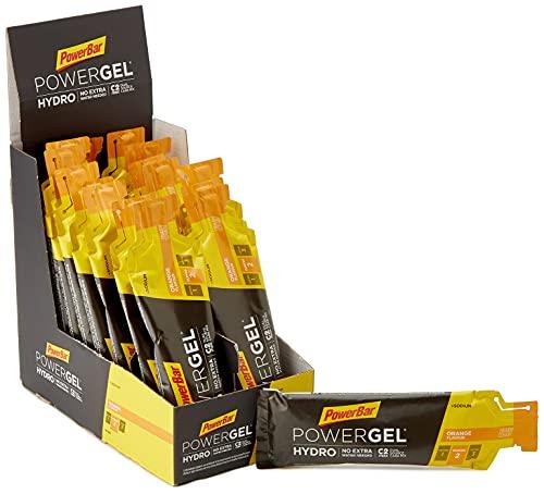 PowerBar PowerGel Hydro Orange 24x67ml - Gel Energético de Alto Carbono + C2MAX + Sodio