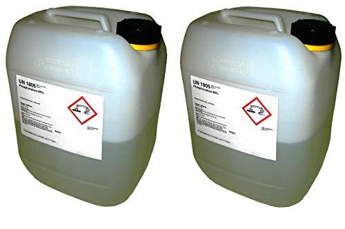 Bemango Phosphorsäure 85% technisch rein 2x10 kg im Kanister UN1805 H3PO4