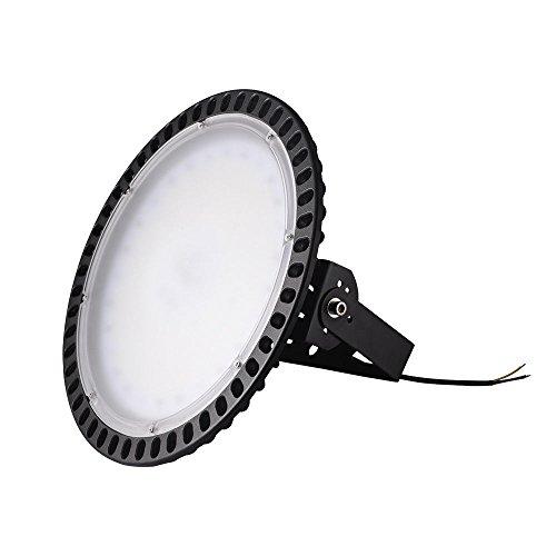 Yuanline LED Projecteur UFO ultra-mince Lampe Industriel LED Extérieur Spot Phare de Travail 100W 200W 300W pour extérieur stade intérieur place panneaux d'affichage usine entrepôt etc. (300W)
