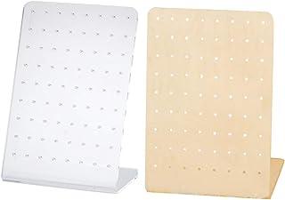 Modelli Adatti per Negozi fllyingu 3 Set di espositori acrilici Trasparenti ECC. Stand per Gioielli Espositori per espositori Stand per espositori Verticali Accessori cabine
