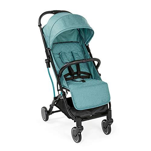 Chicco Trolley Me Leichter Kinderwagen ab Geburt bis 15 kg, Liege- und Klappbuggy mit Trolleyfunktion, Kompakt, Regenschutz und Ausziehbares Sonnenverdeck