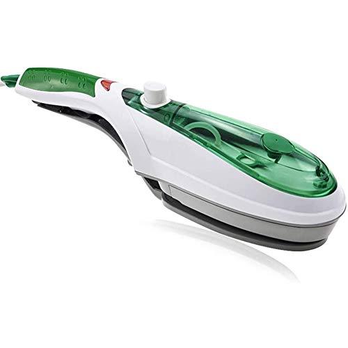 ZHANGXJ Handheld Mini Portátil 1000W Calentamiento Rápido Plancha de Vapor Vertical Plancha Ropa Vaporizador de Mano Plancha de Viaje para Viaje Hogar,Verde Viaje