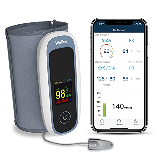 Wellue Bluetooth Pulsoximeter mit...