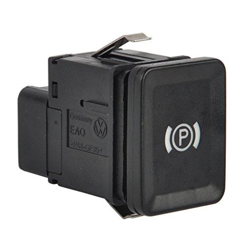 H HILABEE Parkbremse Handbremse Schalter Ersatzhandschalter für VW Passat 3C/R36/CC