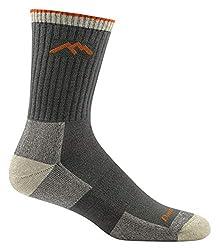 Darn Tough Coolmax Micro Crew Cushion Socks - Men's Olive Medium