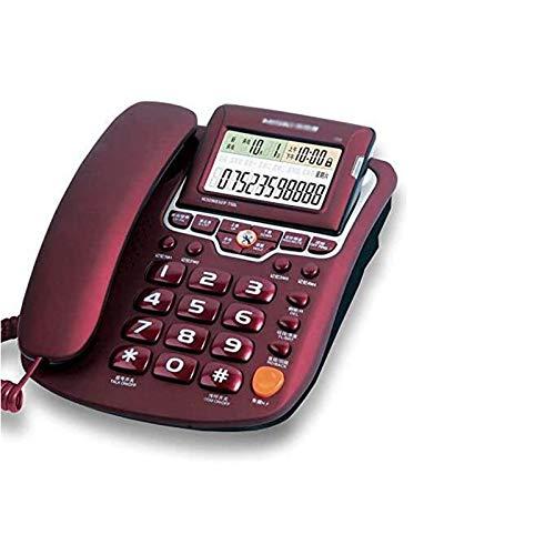 JDJFDKSFH Número de teléfono para teléfonos Home House Teléfono de Escritorio con...