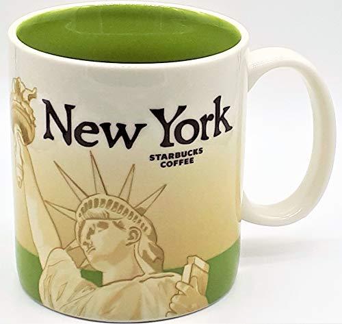 Starbucks Coffee Mug NEW YORK Collector Series 2009 16 fl oz Kaffetasse Tasse Becher