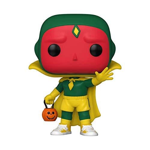 Funko POP! Bruja Escarlata y Visión: Visión Halloween