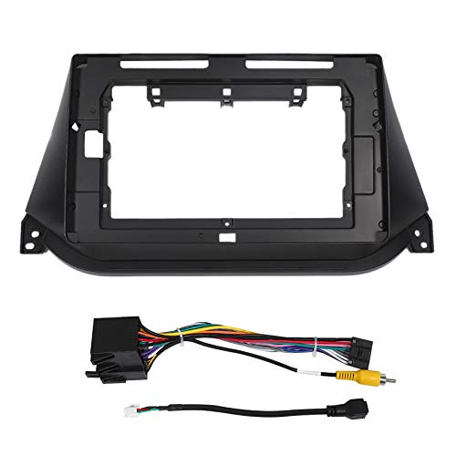 Gaoominy 2 DIN Car Radio Fascia Frame para JAC Refine S2 2015 Car DVD GPS Navi Panel Dash Kit InstalacióN Marco Trim Bisel