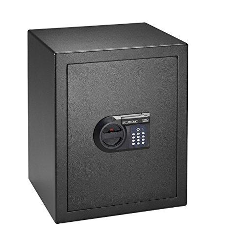 BURG-WÄCHTER Möbeltresor mit elektronischem Zahlenschloss, Sicherheitsstufe B, Homesafe H 4 E, Schwarz