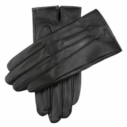 Dents Gants Homme - Noir - Noir - FR : Medium