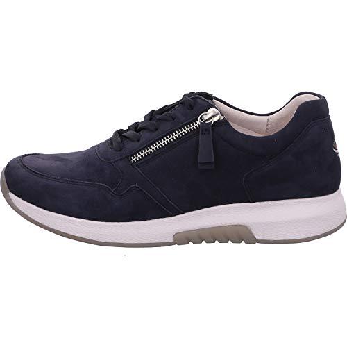 Gabor Zapatillas Rollingsoft 46.946 para mujer, color Azul, talla 40 EU