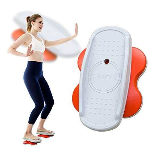 Dipda Line Compact Core Twisters for Home Gym - Ab Fitness Equipment & Full-Body Workout. Easy & Exciting with Online Video Streaming & Application. 2 in a Box. 3.5lb. Super Silence & Portable.